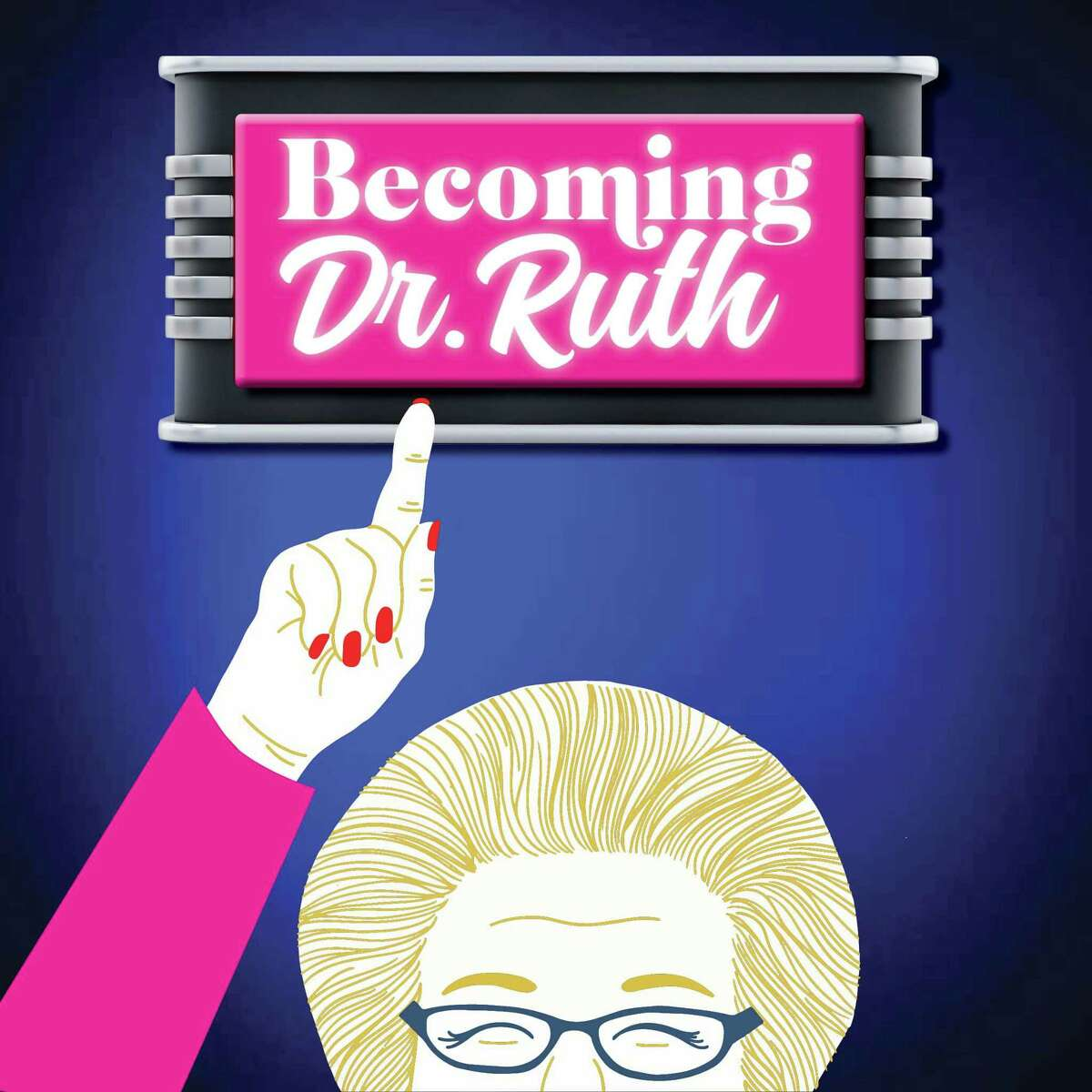 Becoming Dr. Ruth logo.