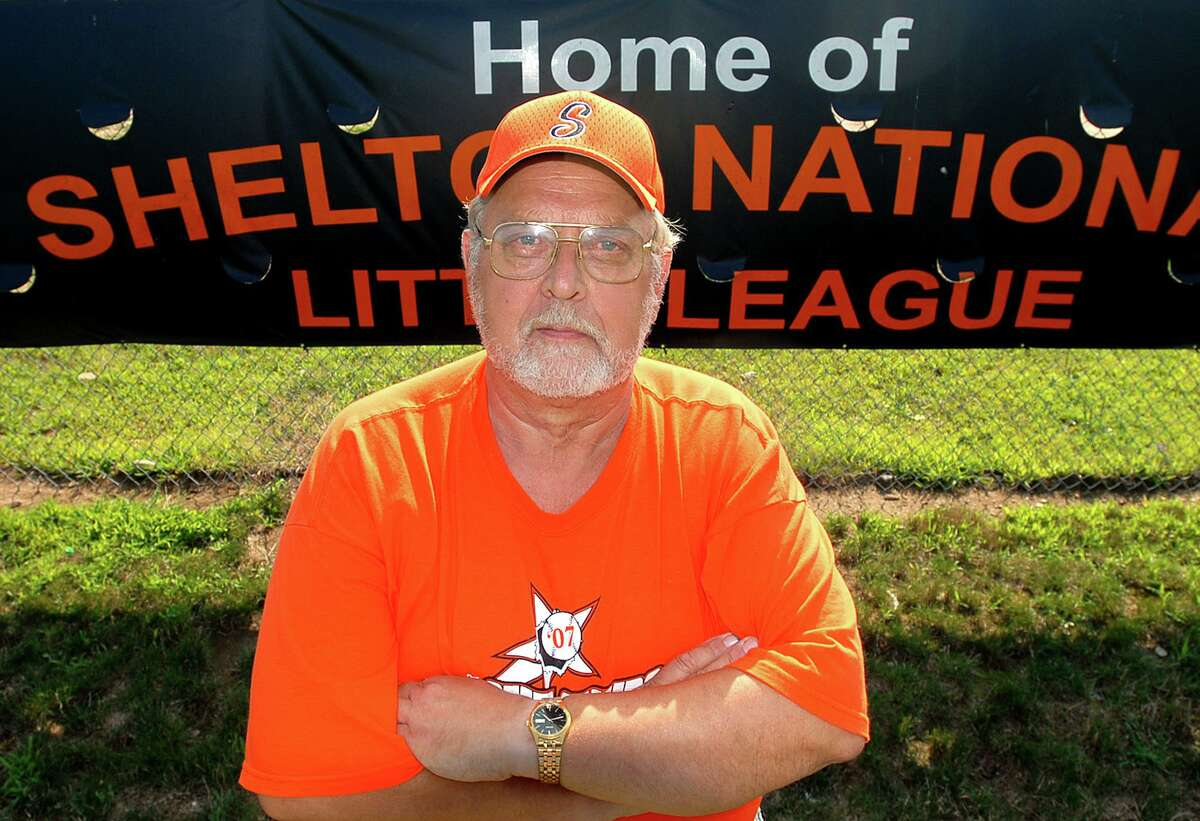 Stanley Kudej, while Shelton National Little League president in 2007. (Photo/Jeff Holt)