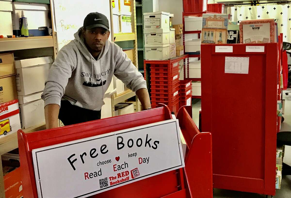 These red wagons of books are taken into Albany's marginalized communities and distributed free to youths to promote reading and literacy.