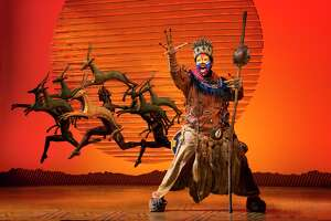 """""""The Lion King"""" — featuring Buyi Zama as Rafiki — is returning to the Majestic Theatre during the 2021-22 season of the Broadway in San Antonio series."""