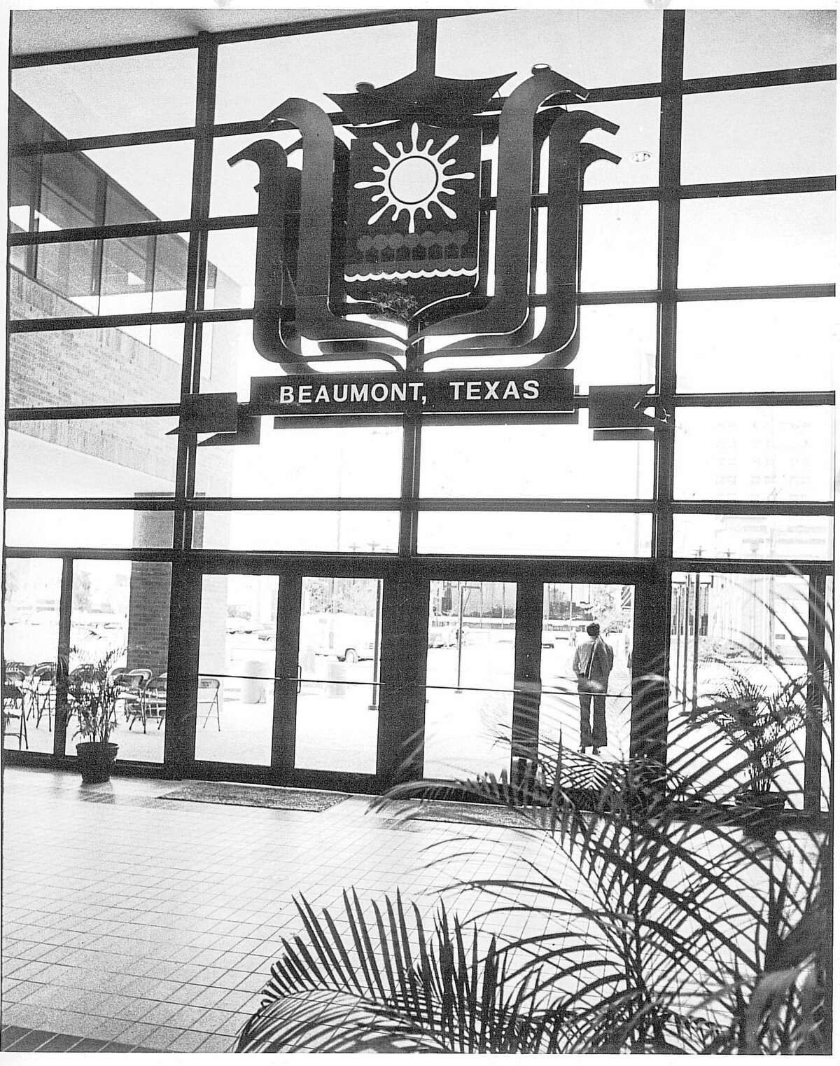 An undated photo of inside Beaumont city hall. Enterprise Archive Photo