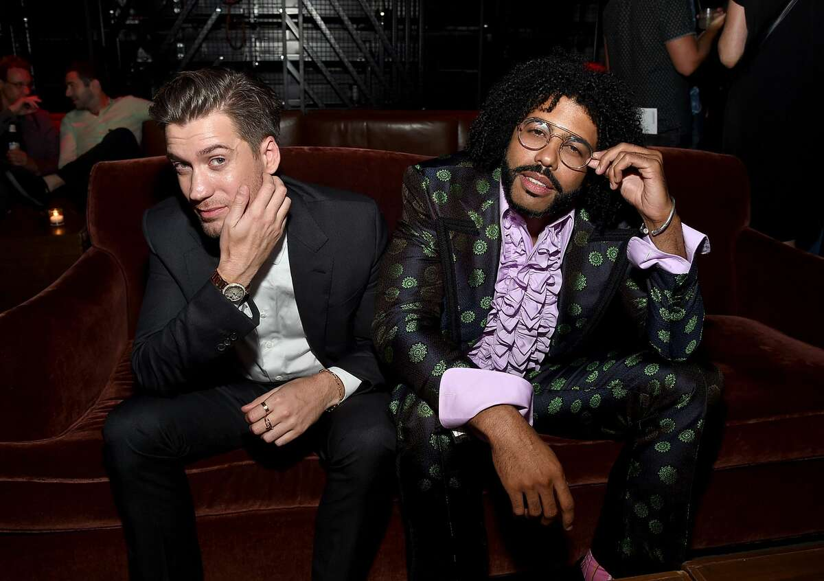 Rafael Casal and Daveed Diggs are seen at the afterparty for a screening of