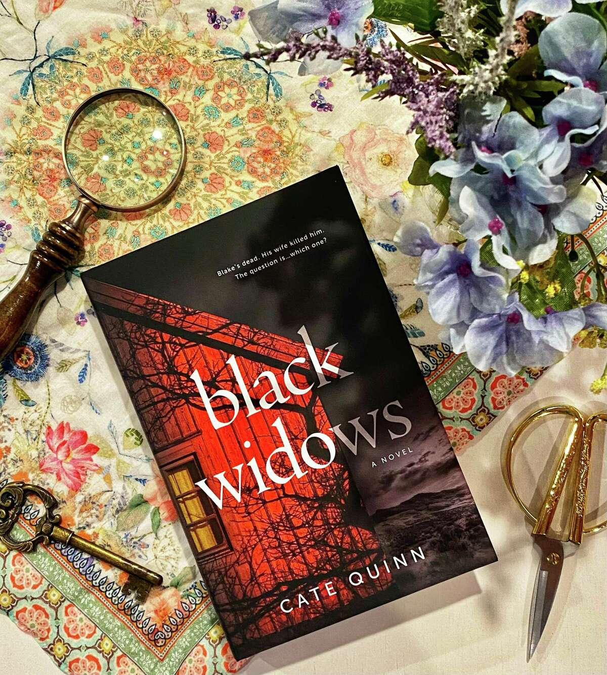 """""""Black Widows"""" by Cate Quinn is a riveting thriller."""
