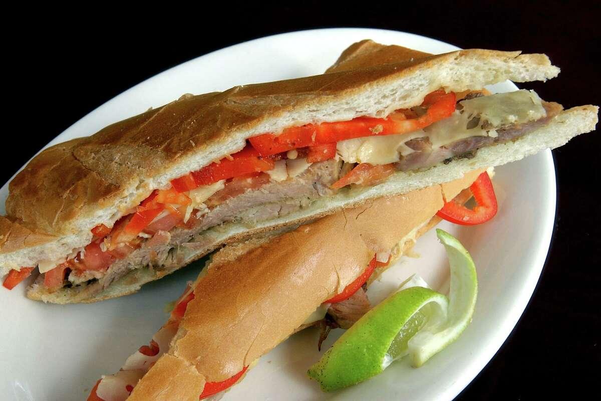 A Cuban sandwich from the Soul de Cuba Cafe in New Haven