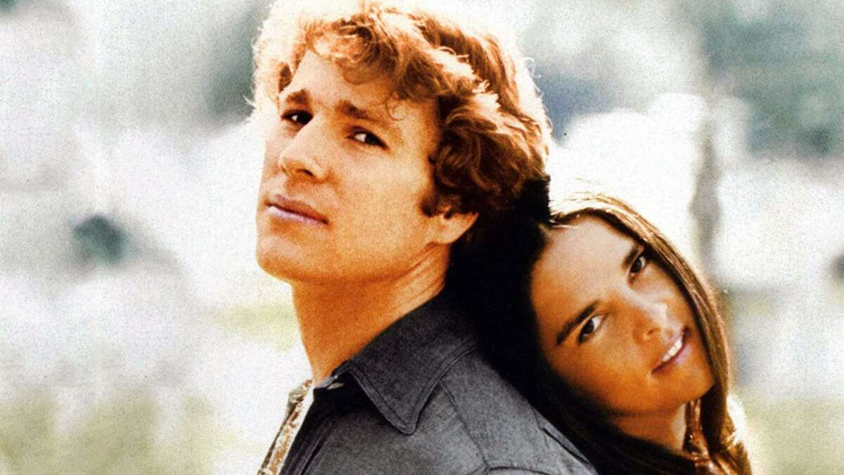 """Ryan O'Neal and Ali MacGraw star in """"Love Story."""""""