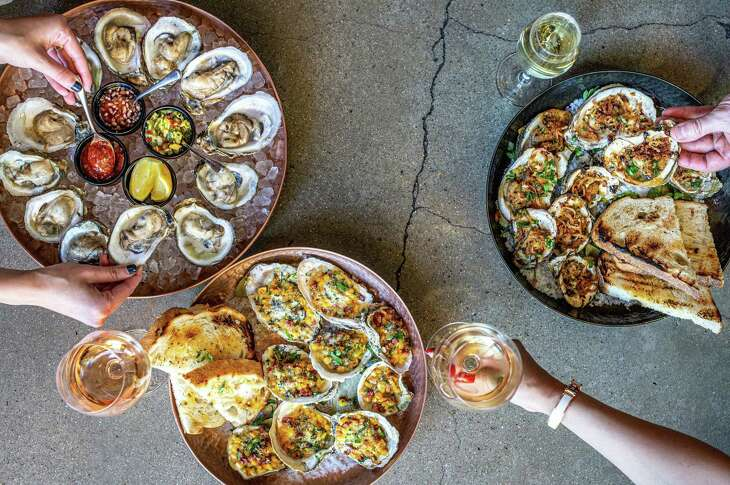 Traveler's Table's international oyster night each Wednesday from 5 to 9 p.m. offers a dozen raw or nine char-grilled oysters for $20.