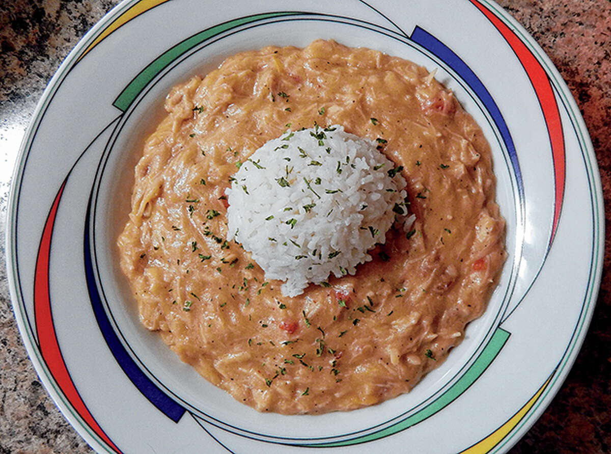 Gumbo can be as fancy or as simple as you want to make it, depending on what ingredients you have available.