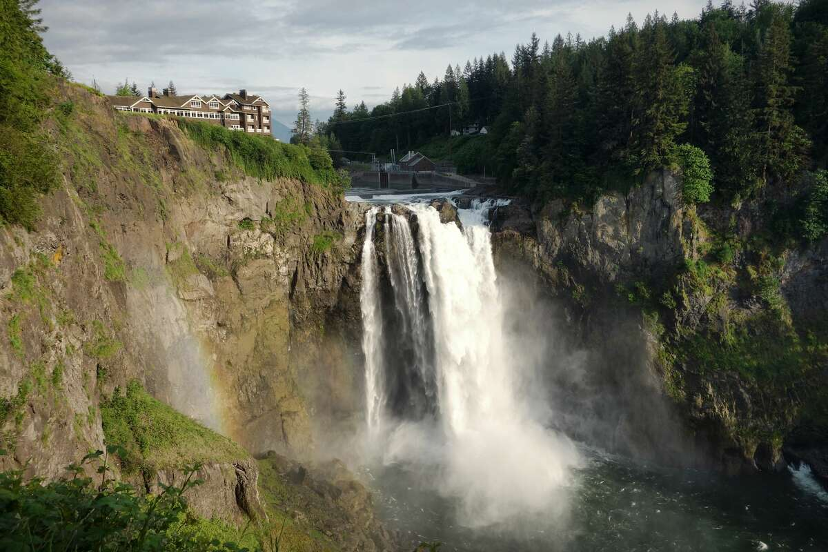 Snoqualmie Falls waterfall in Snoqualmie, Wash.