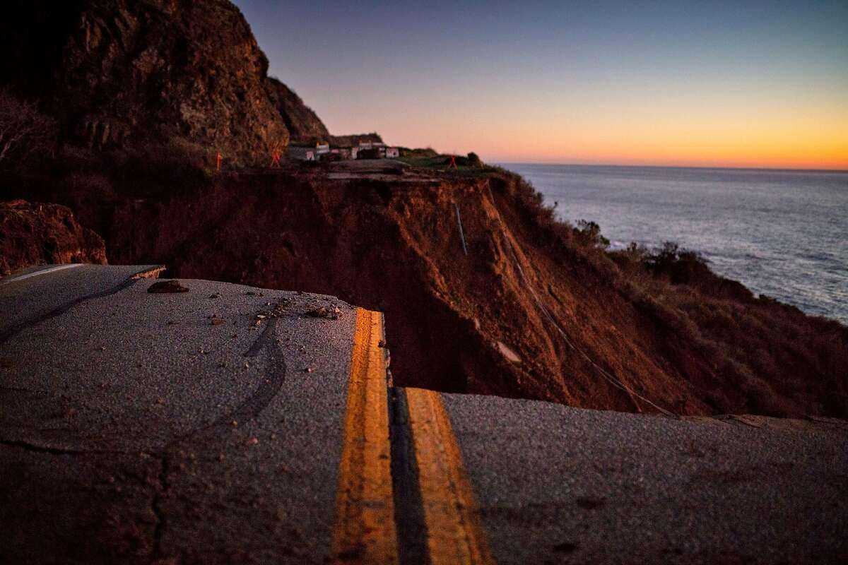 Yet another washout on Highway 1 near Big Sur has made life miserable for residents.
