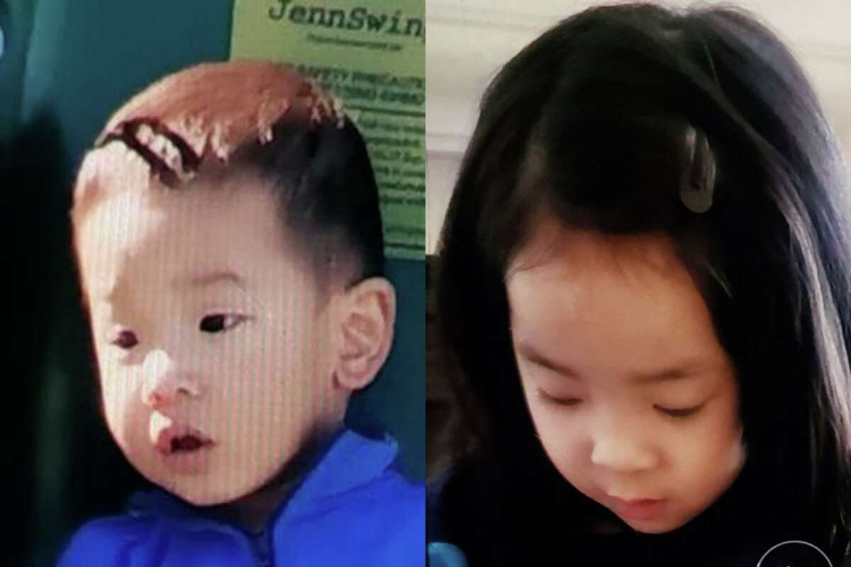 The CHP issued an Amber Alert for Sean Fang, 1, and Winnifred Fang, 4, late Saturday.