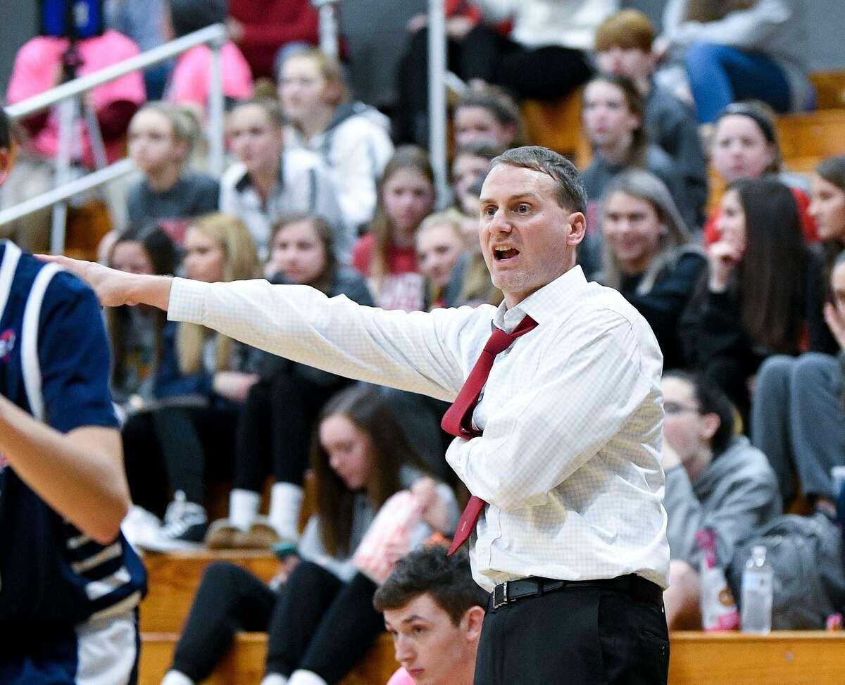 Ian Kirkpatrick likes the way Foran is shooting the basketball.
