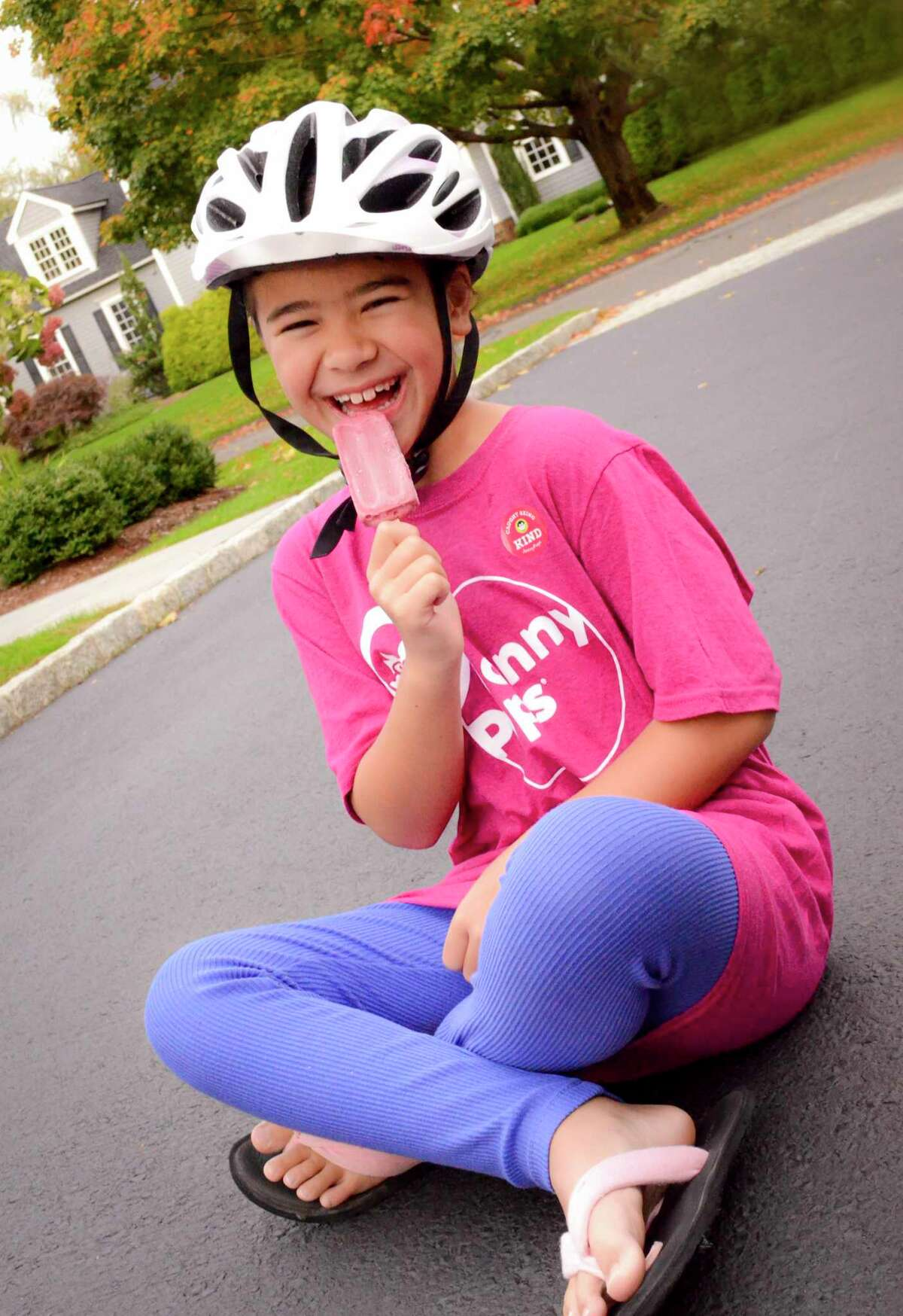 Kristina Yuan's photo of her cousin, Rachel Yuan, was chosen to represent the JonnyPops Kindness is Golden campaign. The photo will be on inserts placed in more than 2 million boxes.