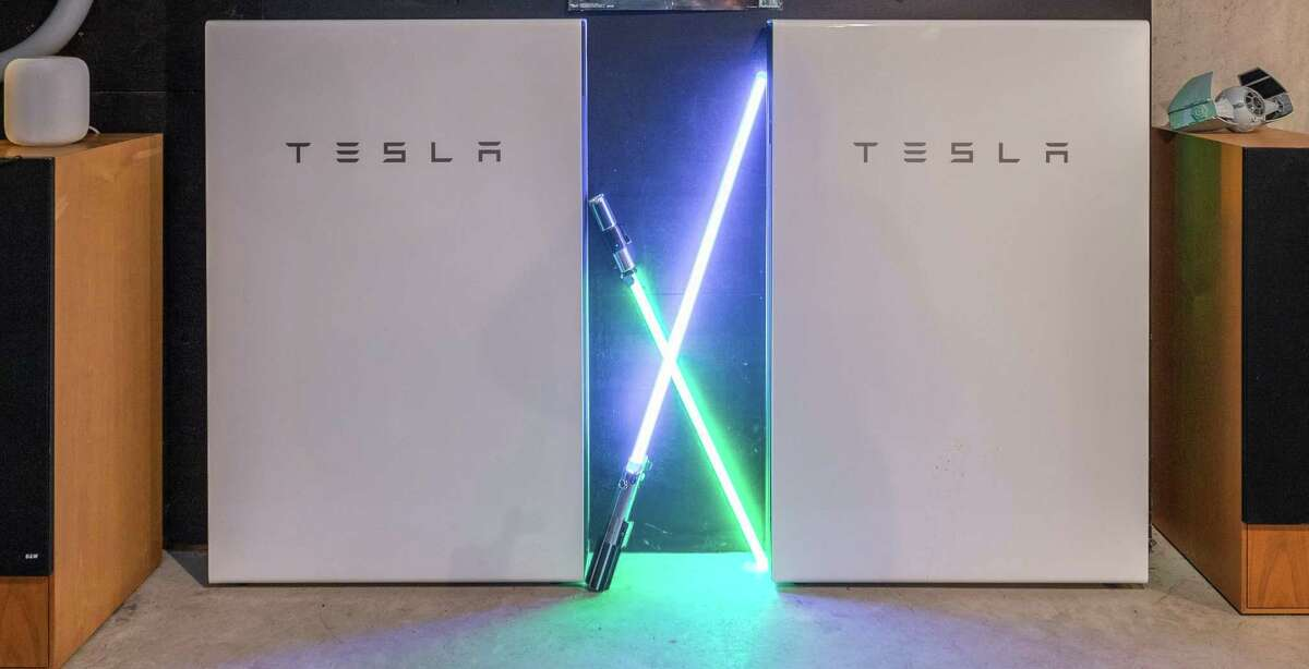Tesla Solar Storage/Powerwall at 3360 Sturges Highway, Fairfield.