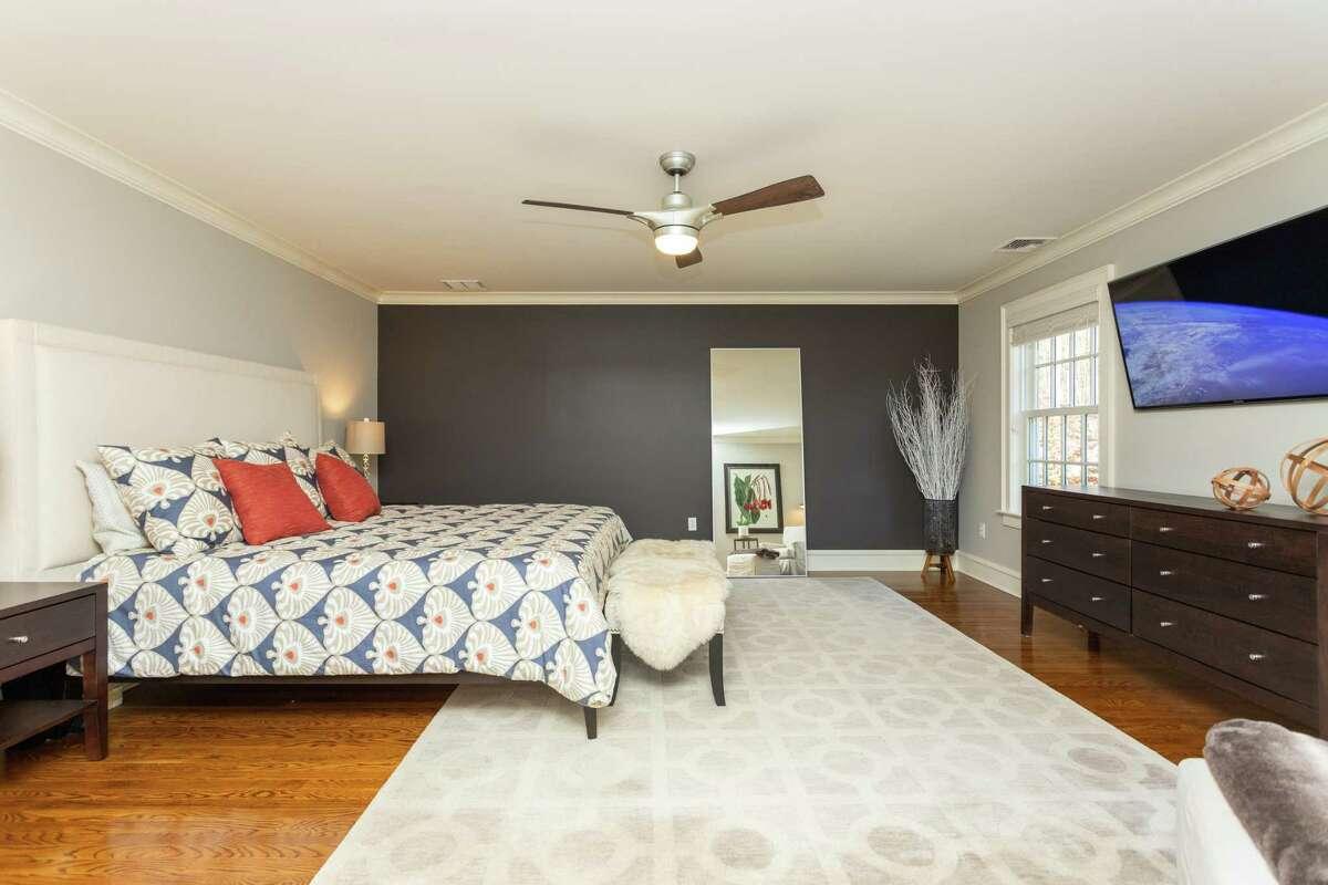 Master bedroom suite at 3360 Sturges Highway, Fairfield.