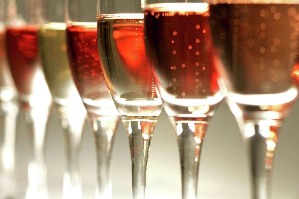 Pink sparkling wines are perfect for Valentine's Day.