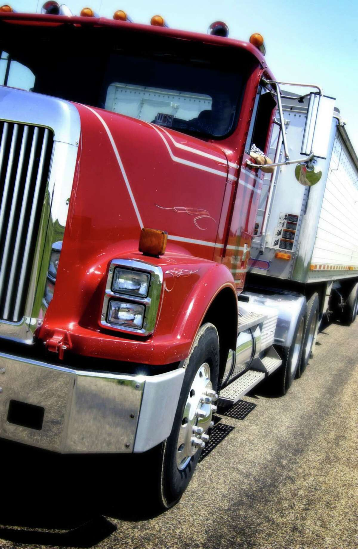 Gov. Ned Lamont is proposing a new tax on the heaviest trucks that drive through Connecticut, in a plan aimed at raising $90 million a year.