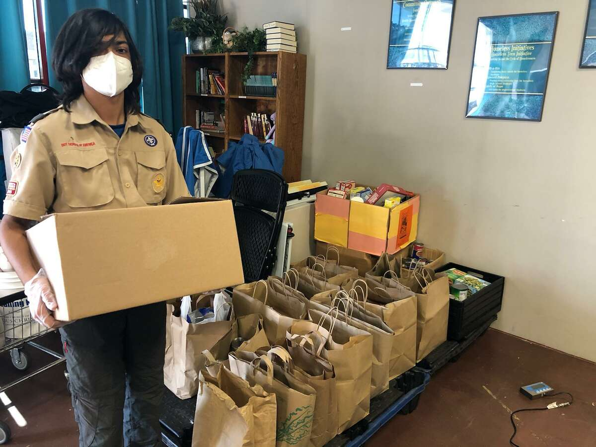 Cy-Fair Helping Hands has had help from area residents and organizations, such as Boy Scouts and local churches, in the form of food donations. The homeless outreach team helps CFHH reach clients in the field.