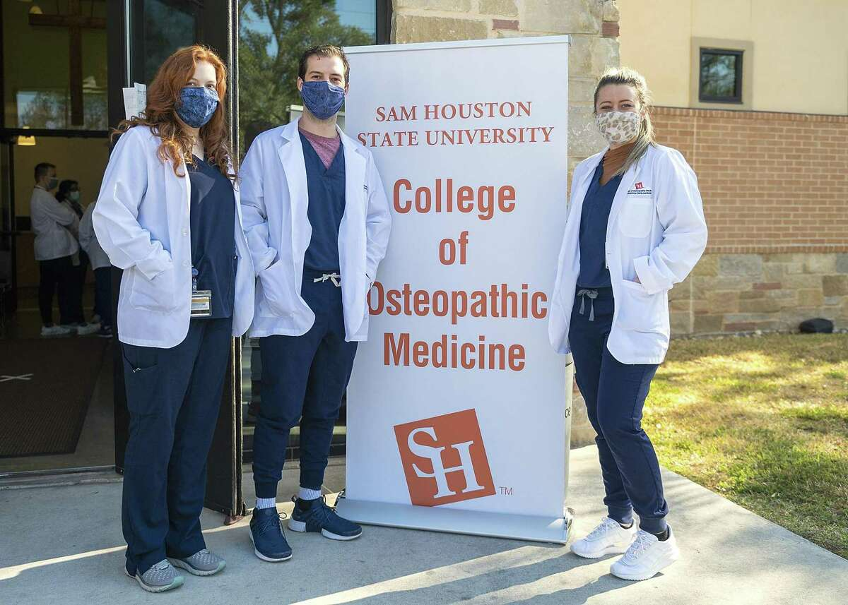 Students of the recently opened SHSU College of Osteopathic Medicine in Conroe will be volunteering their time at the Salvation Army in Conroe to provide basic medical services to the shelter clients. This outreach event is expected to continue once a month.