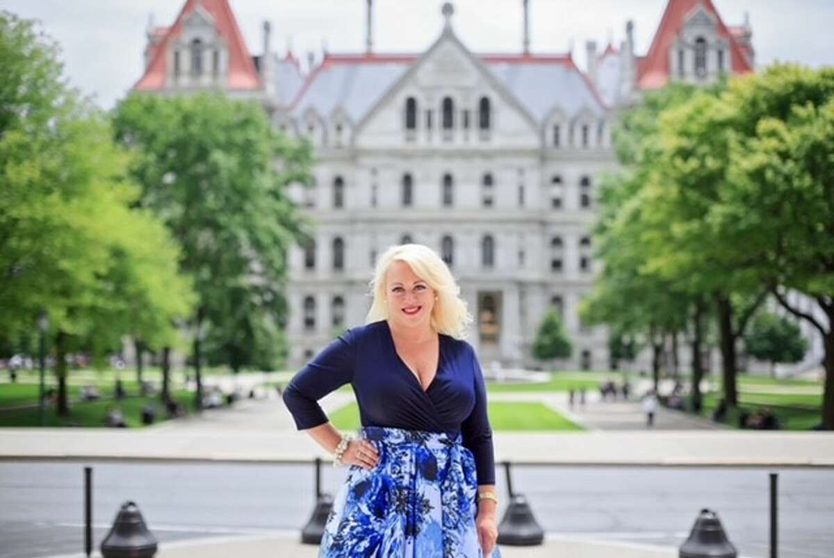 Real estate agent Jennifer Vucetic is the Lawrence B. Caldwell RPAC Service Award winner for 2021. The award from the Realtors Political Action Committee of NY recognizes service.