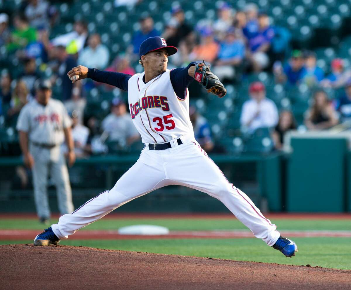 Erik Manoah pitched against the Tri-City ValleyCats as a member of the Brooklyn Cyclones in 2016. (Brooklyn Cyclones)