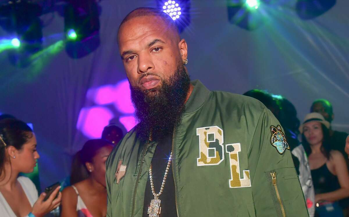 MIAMI, FL - FEBRUARY 02: Slim Thug attends The Big Game Weekend at The Dome Miami on February 2, 2020 in Miami, Florida.(Photo by Prince Williams/Wireimage)