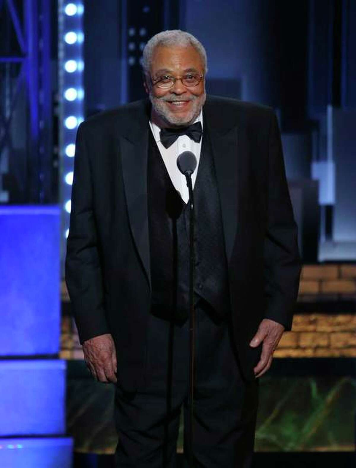 James Earl Jones accepts the special Tony Award for Lifetime Achievement in the Theatre at the 71st annual Tony Awards on June 11, 2017, in New York. Jones turned 90 on Jan. 17.