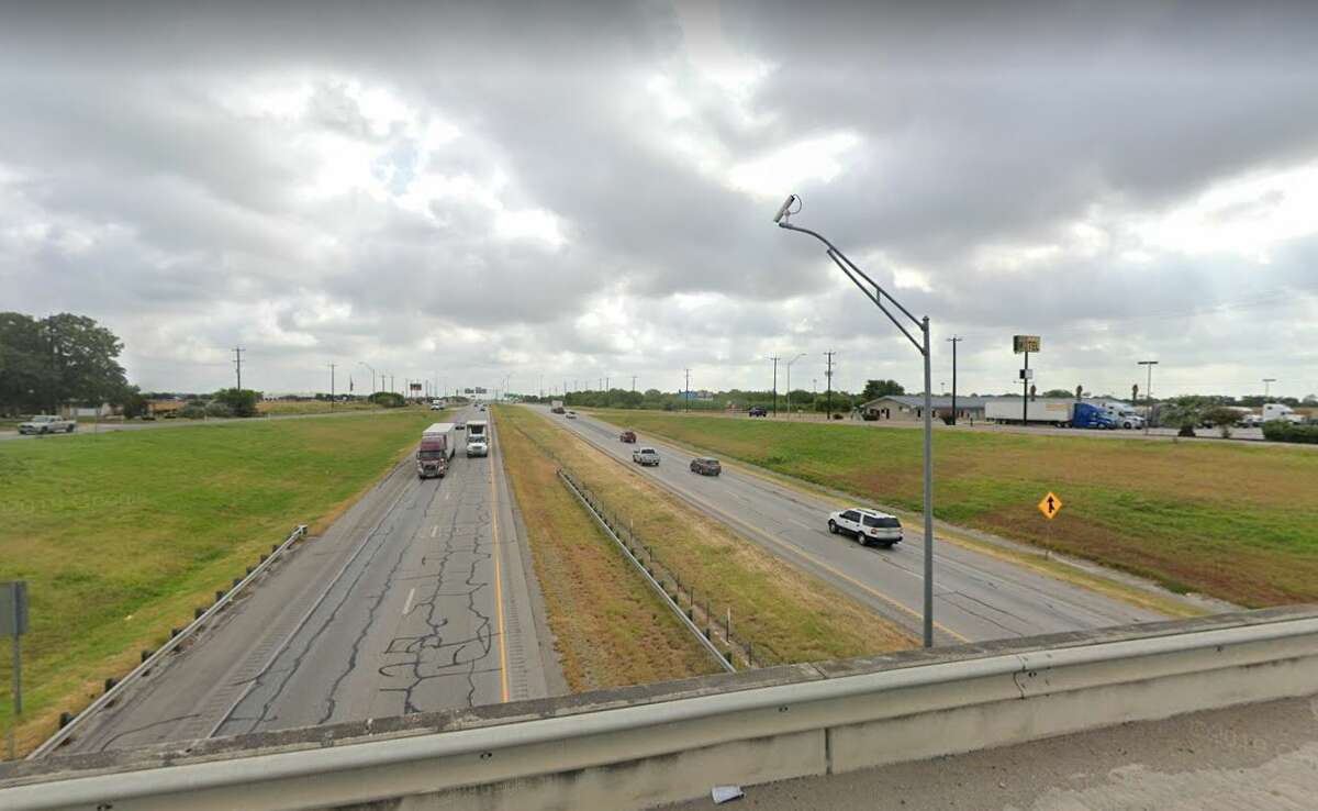 I-35 viewed from Fischer Road
