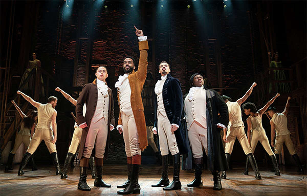 """Featuring a score that blends hip-hop, jazz, R&B and Broadway, """"Hamilton"""" has taken the story of American founding father Alexander Hamilton and created a revolutionary moment in theatre."""