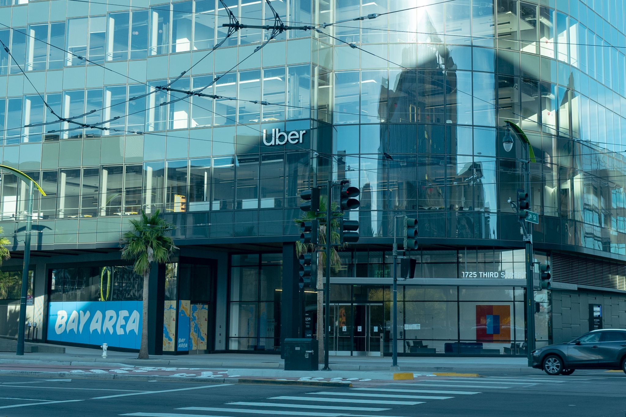 Uber reportedly looking to unload large chunk of office space at new SF headquarters