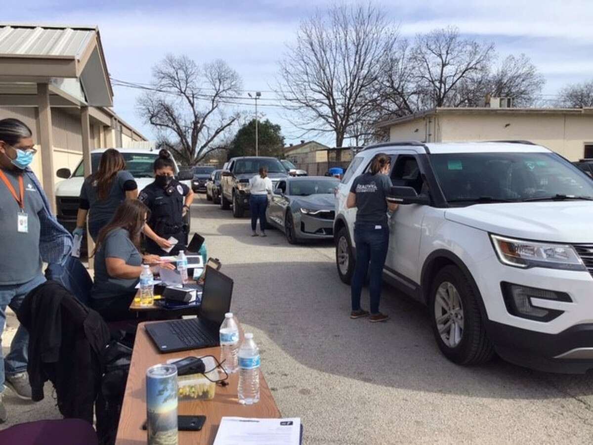 Metro Health worked with San Antonio groups to set up appointments for 5,400 high-risk residents to receive their COVID-19 vaccine.