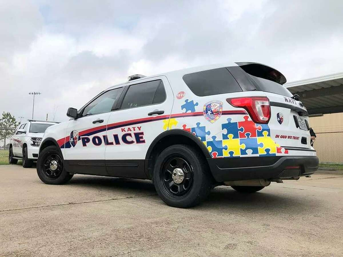 The Katy Police Department has wrapped a vehicle as part of its Project Guardian program on Feb. 10, 2021.