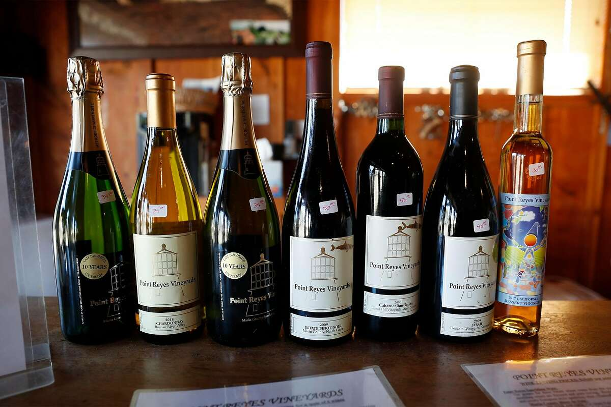 Point Reyes Vineyards is unusual in that it sells many older vintages of wine, stretching back 10 or 20 years.