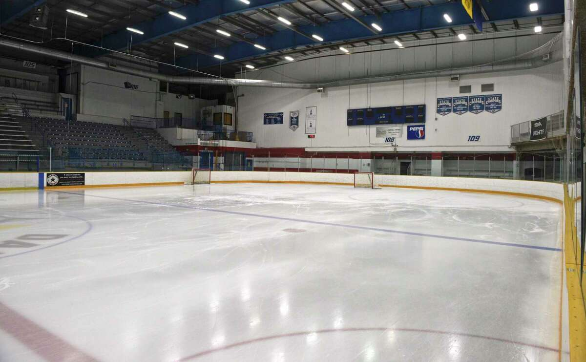 Danbury Ice Arena is shown in a 2019 photo.