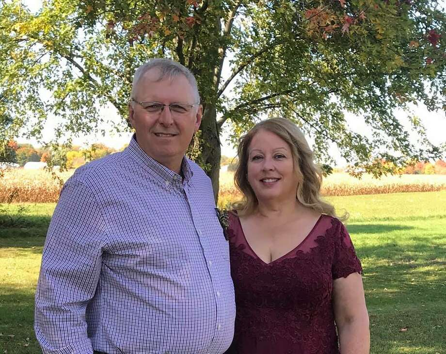 """""""Married 35 years and together 40 years. We wouldn't change a thing!"""" Photo submitted by Donna Zeldenrust Photo: Submitted Photo"""