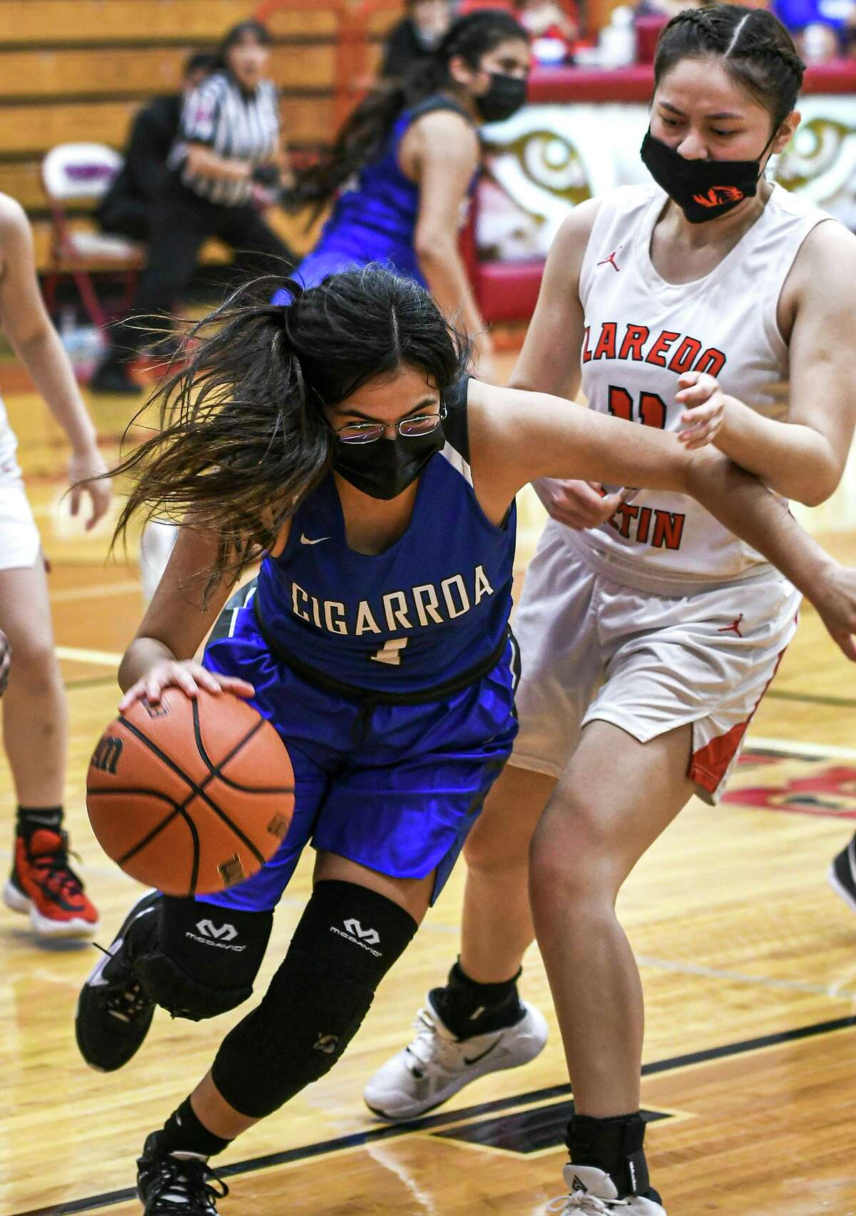 Kassandra Martinez and Cigarroa face Veterans Memorial at 5:30 p.m. Thursday at Alice High School, and Daina Garcia and Martin play at 6:30 p.m. at Kingsville High School against Victoria East.