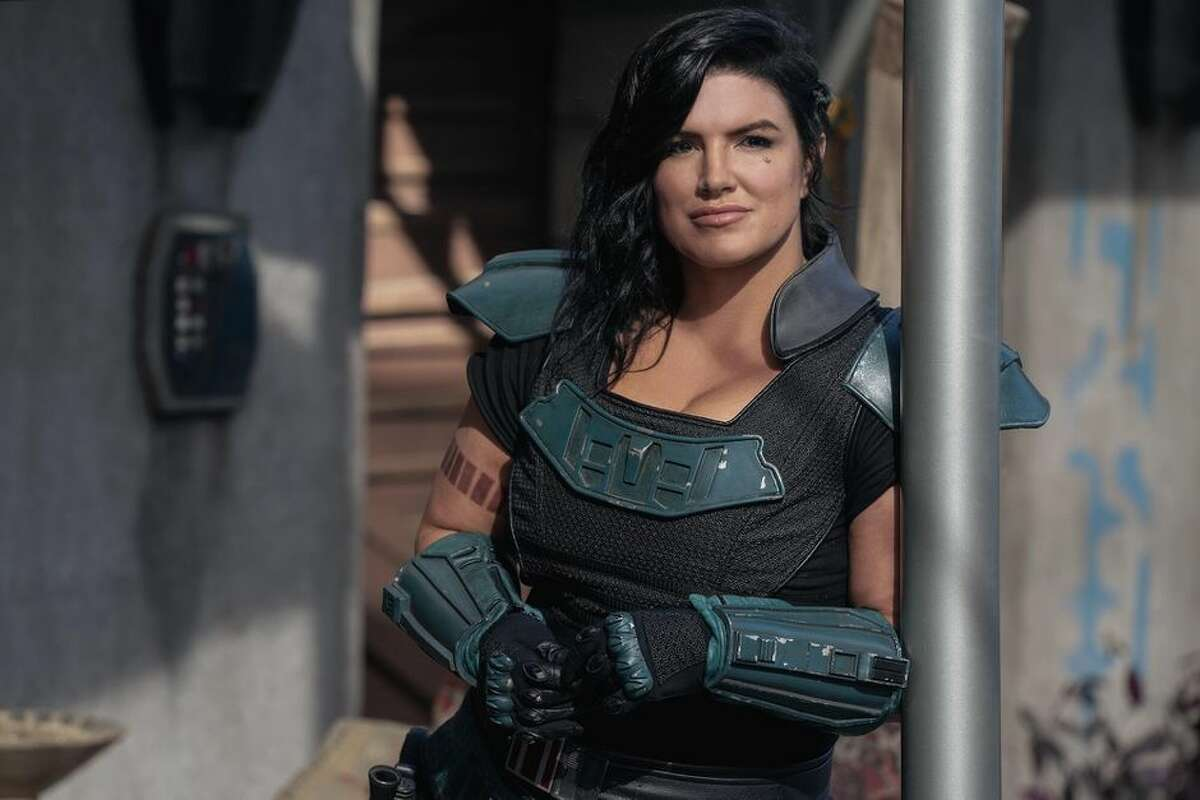 Gina Carano played Cara Dune in the first two seasons of The Mandalorian.