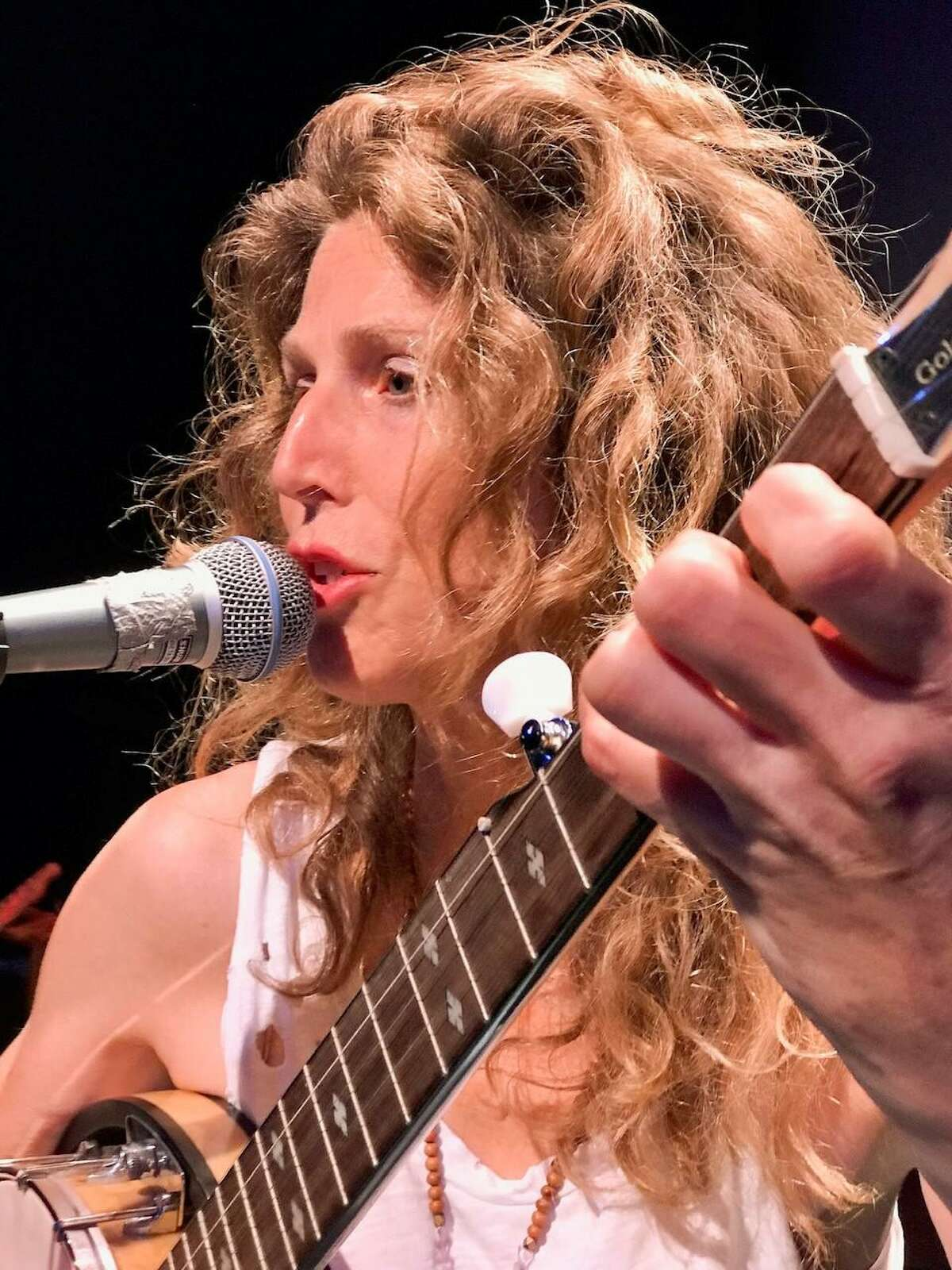 Westport's Sophie B. Hawkins will perform live at the Ridgefield Playhouse.