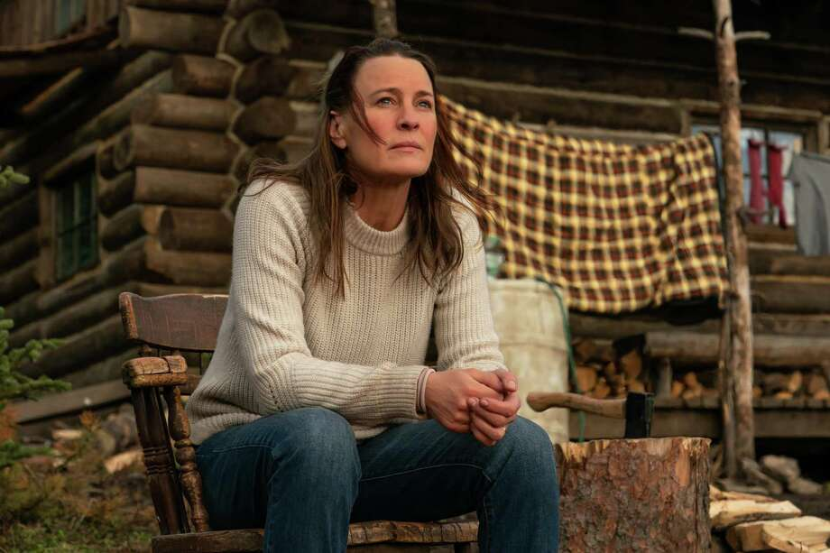 """Robin Wright stars as """"Edee"""" in her feature directorial debut 'LAND.' Photo: Daniel Power, Photographer / TNS / ©2021 Focus Features, LLC."""