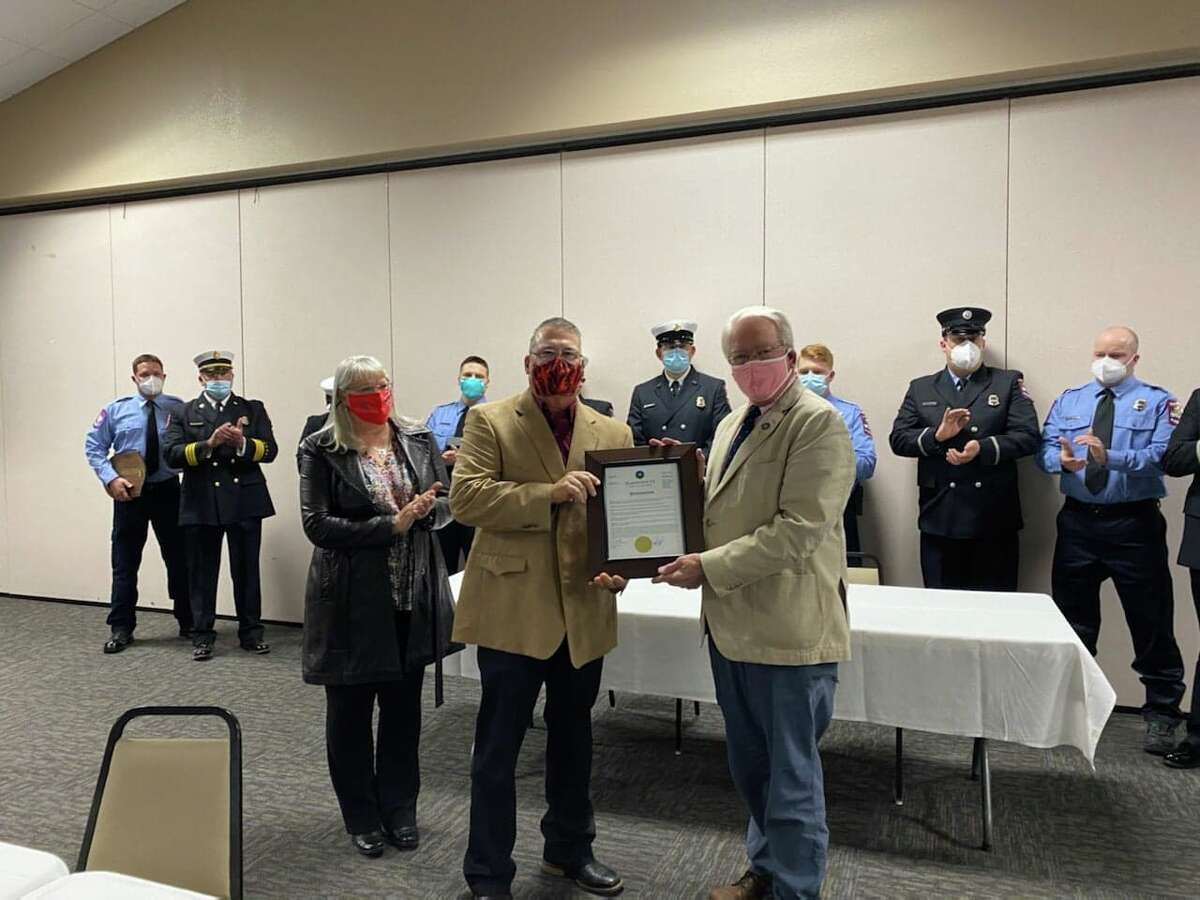 The Plainview Fire Department and City Council officially recognized retired Fire Marshal Philip Mize for his 31 years of service to the department during a Council meeting Tuesday night.