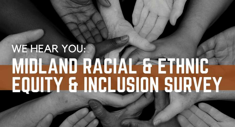 Midland's We Hear You Coalition is looking to understand local issues surrounding racial and ethnic inequality with an online survey. (Screen photo/City of Midland) Photo: Screen Photo