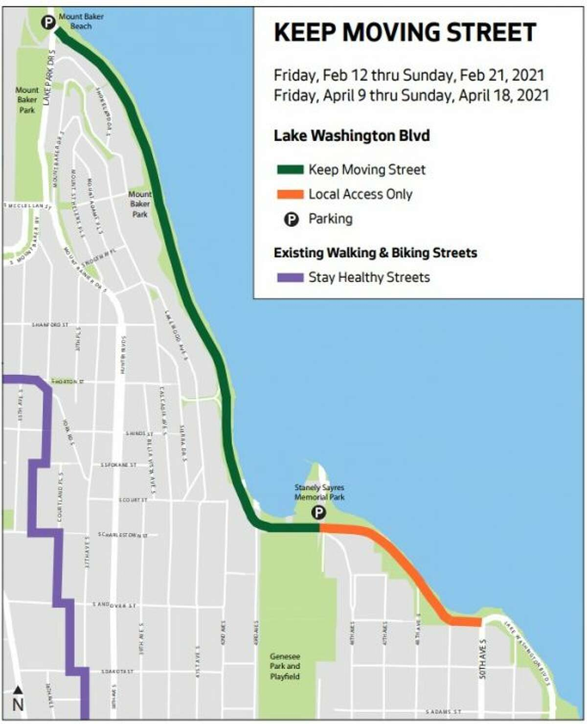 New portion of Stay Healthy street to open Friday