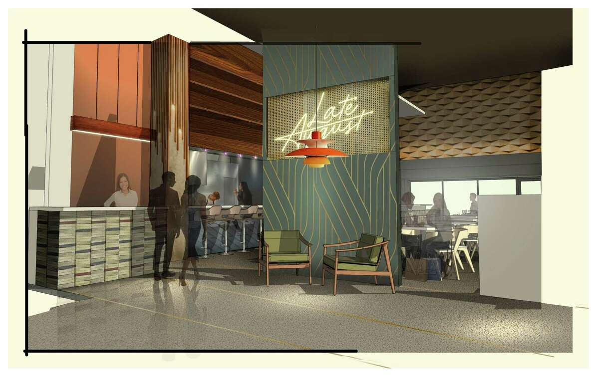 Rendering of Late August restaurant that will be among the culinary offerings at The Ion and surrounding Innovation District, the Rice University project being developed at the former Sears in Midtown and surrounding blocks as part of the university's Ion innovation hub.