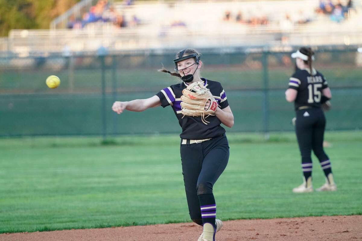 Erin Ducharme is a senior leader in the infield for Montgomery.