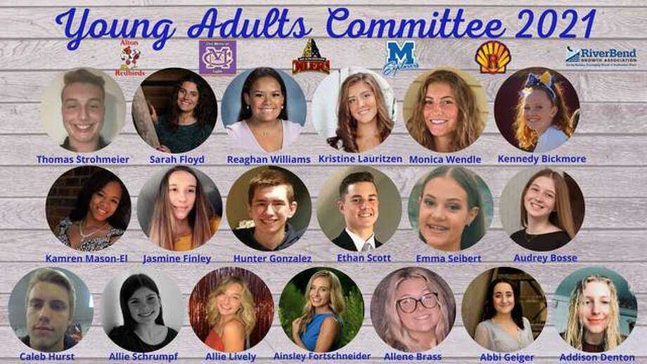 The RiverBend Growth Association's Young Adults Committee is hosting a raffle. The committee includes representatives from five area high schools.