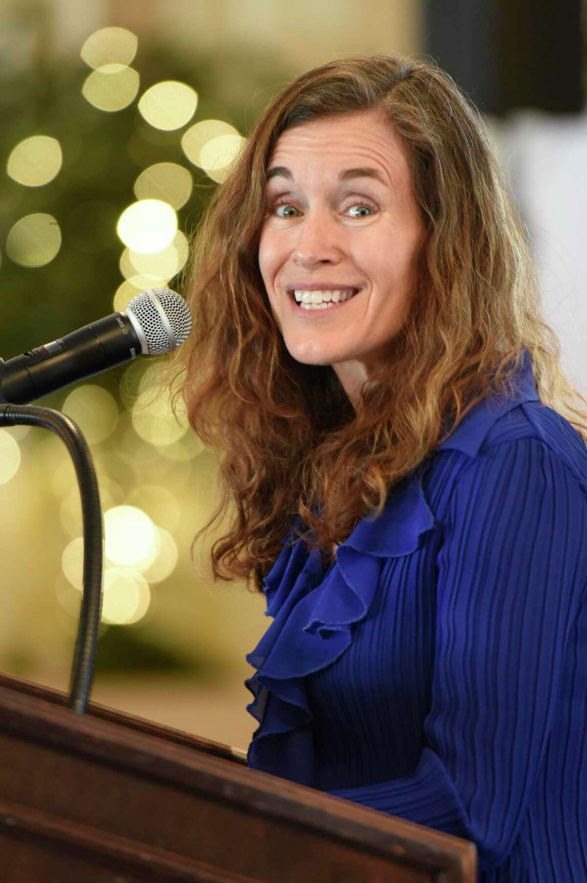 Melissa Bernstein, co-founder of the Westport-based toy company Melissa & Doug.