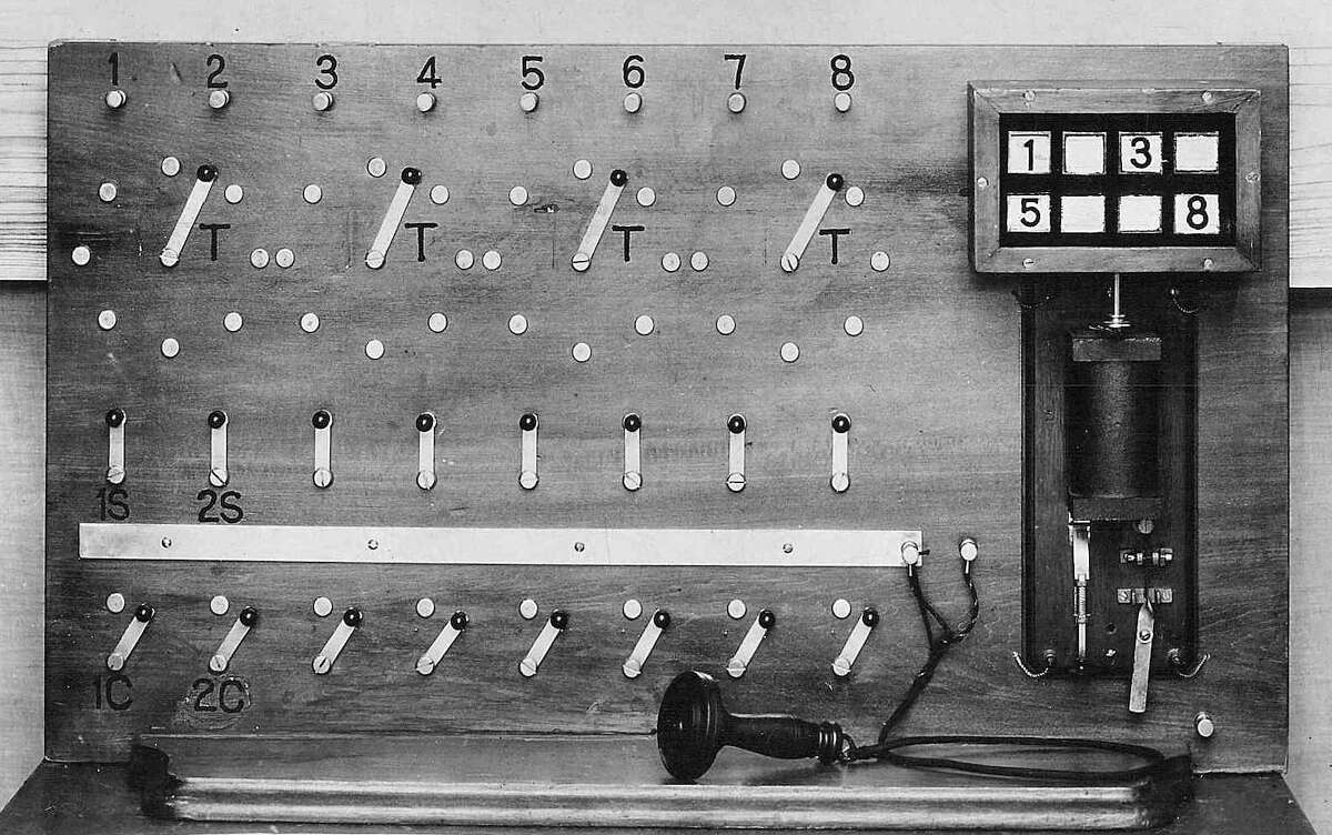 George Coy's switchboard made it possible for New Haven residents to make telephone calls.