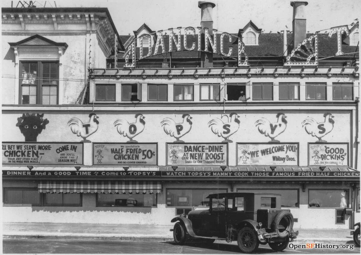 Topsy's Roost on the boardwalk of Playland at the Beach promised cheap eats and no cover charge during the Great Depression.