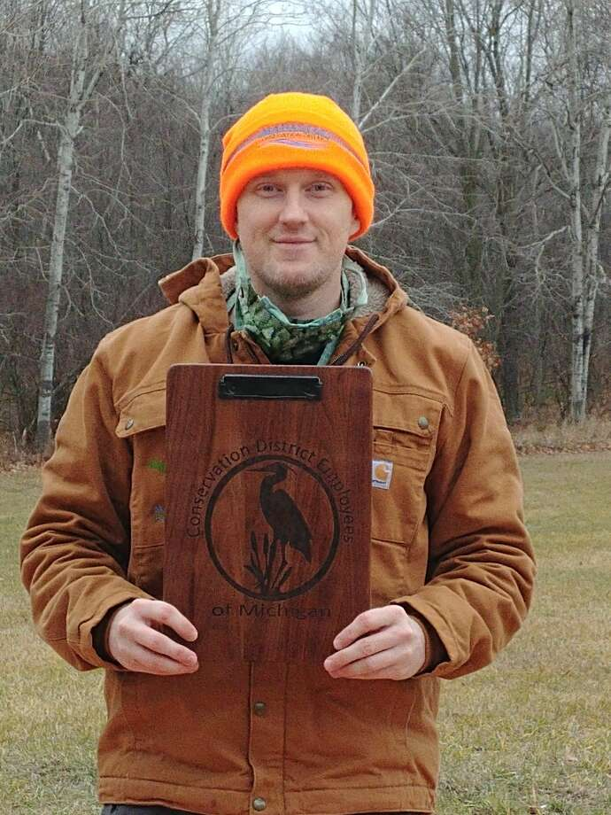 Local forester Josh Shields was recently recognized as Conservation Pioneer of the Year. Photo: Courtesy Photo/Renee Mallison