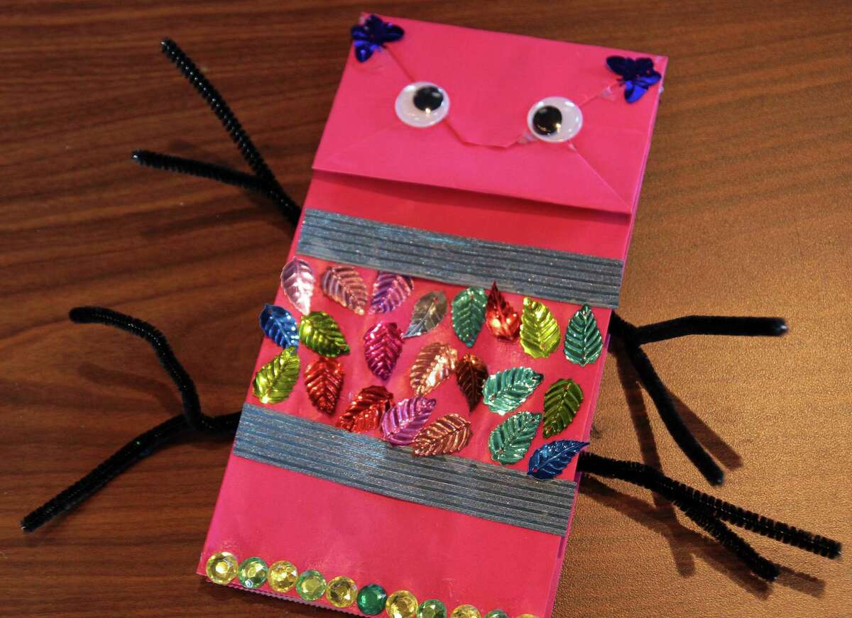 The Greenwich Historical Society holds its Winter Vacation Fun!: Mini Monster Makers event in Greenwich, Conn., on Thursday Feb. 11, 2021. In this class students will learn a little about Jim Henson's time in Greenwich, the history of puppetry, and create three different types of puppets.