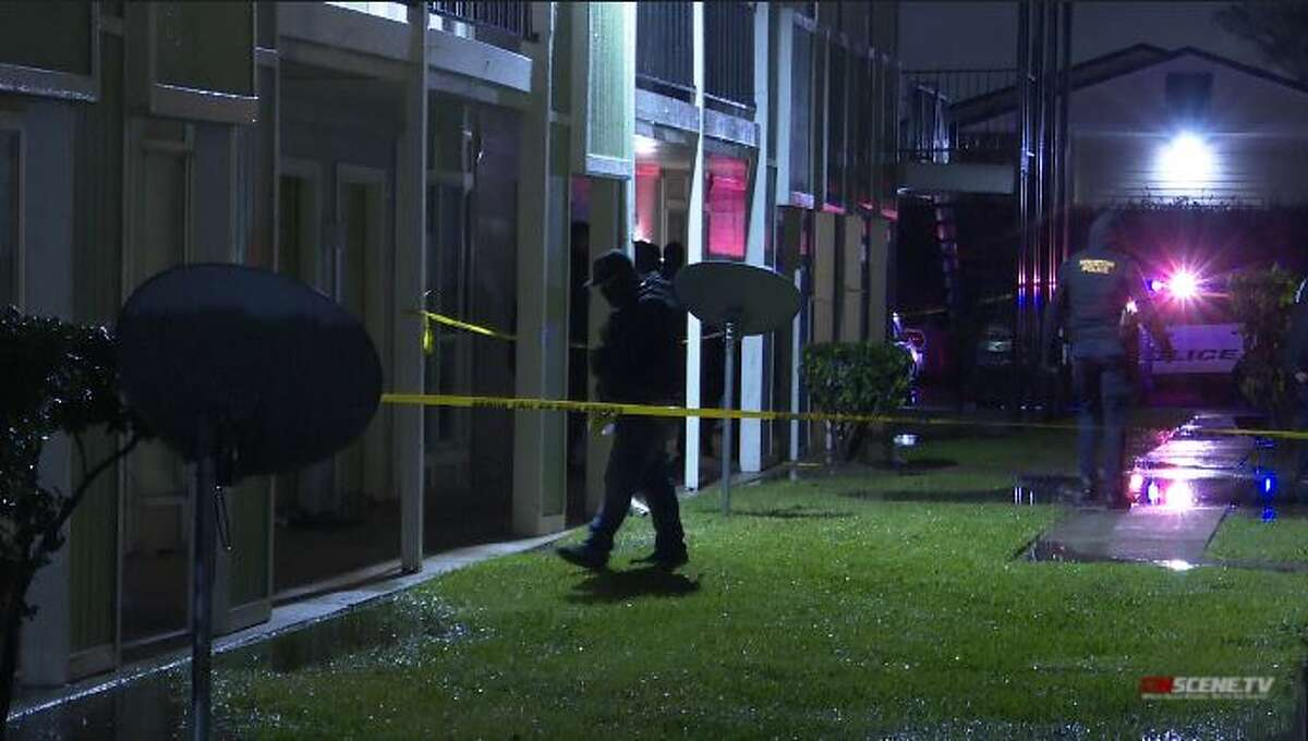 A man was shot and killed Thursday by Houton police at a north Houston apartment complex near Airline Drive and Goodson Drive, police said.